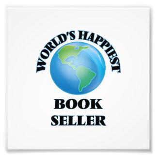 El vendedor del libro más feliz del mundo impresiones fotográficas
