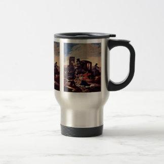 El vendedor del plato por Goya Y Lucientes Francis Taza
