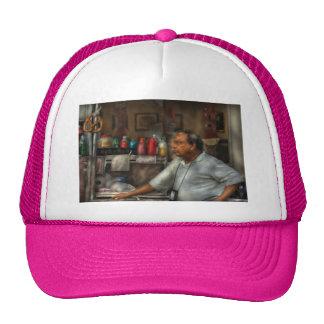 El vendedor del pretzel gorras de camionero