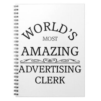 El vendedor más asombroso de la publicidad del mun libro de apuntes