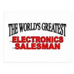 El vendedor más grande de la electrónica del mundo tarjeta postal