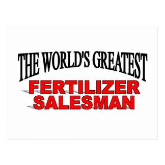 El vendedor más grande del fertilizante del mundo tarjetas postales