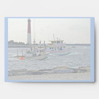 El venir a casa - barcos de pesca en artículo de l sobres