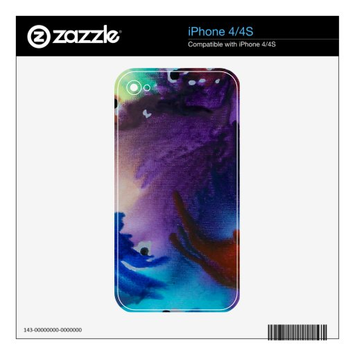 El venir de la tormenta calcomanías para el iPhone 4S