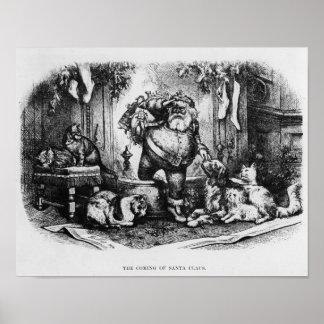 El venir de Papá Noel, 1872 Posters