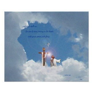 el venir en las nubes posters