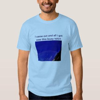 El venir hacia fuera camiseta III Playeras