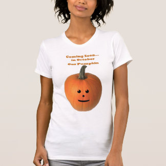 El venir pronto… En octubre nuestra calabaza Camiseta