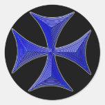 el ver 01 knights la cruz templar - fondo negro etiqueta