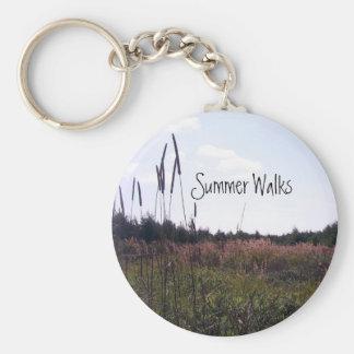 El verano camina llavero