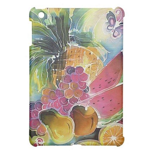 El verano da fruto la pintura de seda del arte