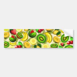 El verano da fruto pegatina para el parachoques pegatina para auto