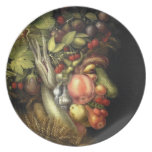 El verano de Giuseppe Arcimboldo (1563) Platos De Comidas