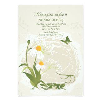 El verano florece la invitación