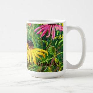 El verano florece la taza