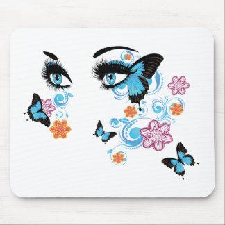 El verano observa con Floral2 Mousepads