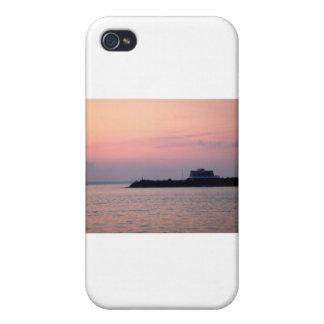 El verano pasado puesta del sol iPhone 4 cárcasas