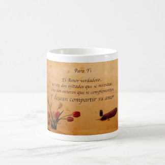 El Verdadero Amor Coffee Mugs