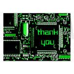 """El verde 2"""" del circuito le agradece"""" tarjeta de f"""