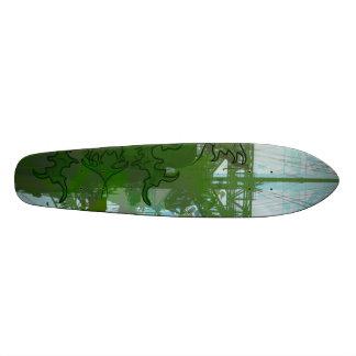 El verde agitó Suttrah Patin Personalizado