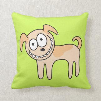 El verde animal divertido del dibujo animado del p