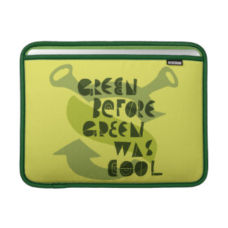 El verde antes del verde era fresco funda  MacBook