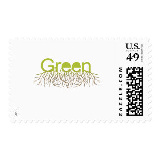 El verde arraiga verde sello