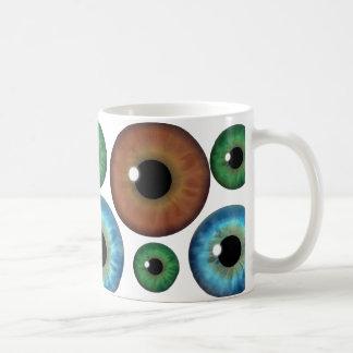 El verde azul Brown calcula visualmente la taza de