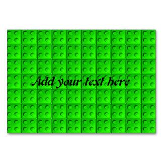 El verde bloquea el modelo