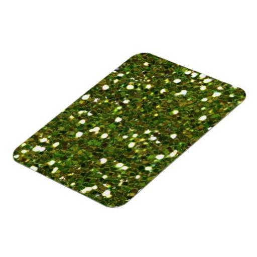 El verde brilla imán superior