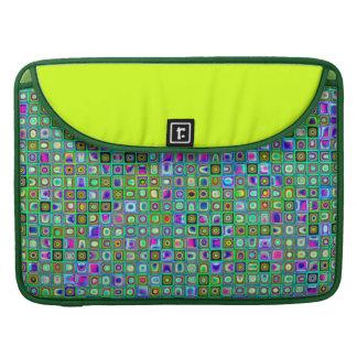 """El verde """"calcula visualmente"""" el modelo retro fundas macbook pro"""