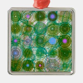 El verde circunda el ornamento del navidad ornamento para reyes magos