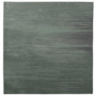 El verde clavó la textura de acero servilleta de papel