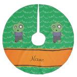 El verde conocido personalizado golpea al zombi