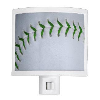 El verde cose béisbol/softball