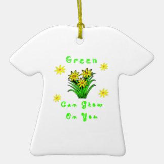 El verde crece en usted adorno para reyes