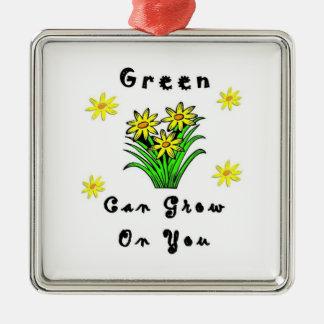 El verde crece en usted ornatos