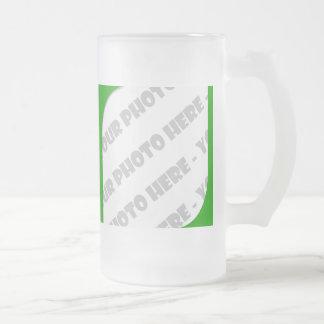 El verde curva a Stein helado foto - cree sus los Taza De Cristal