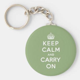 El verde de Eco guarda calma y continúa Llaveros Personalizados