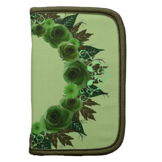 """El verde de la """"envidia verde"""" de la guirnalda planificador"""