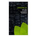 El verde de madera quemado deja tarjetas de visita