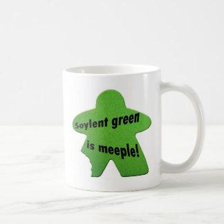 El verde de Soylent es taza de Meeple