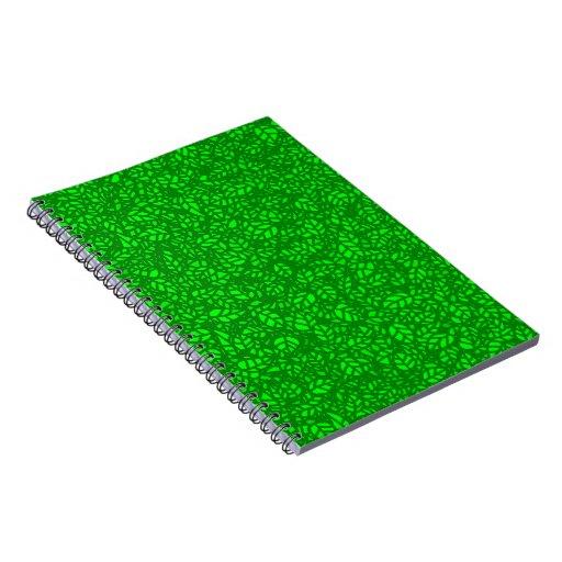 el verde deja el cuaderno