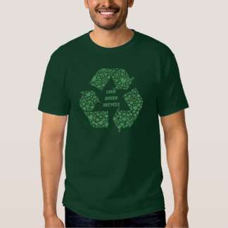 el verde del amor recicla playera