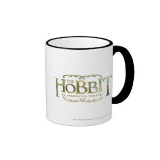El verde del logotipo de Hobbit Taza De Dos Colores