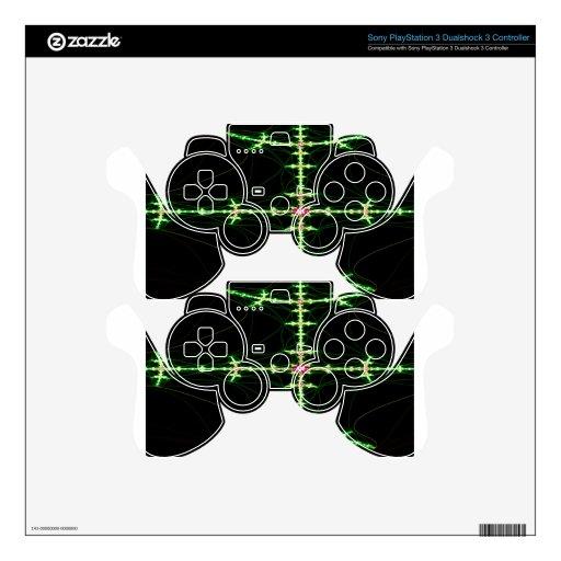 El verde entonó el extracto mando PS3 skins