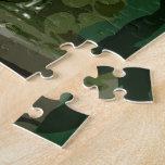El verde es blanco puzzle con fotos