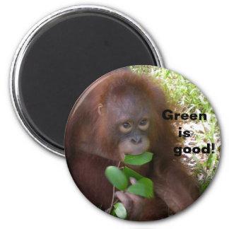 El verde es buen imán