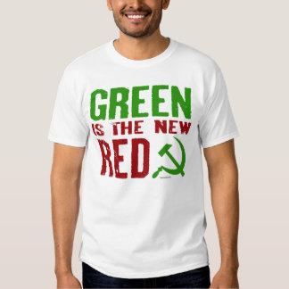 El verde es el nuevo camisetas rojo poleras