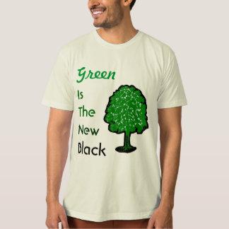 El verde es el nuevo negro camisas